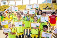Kids' Athletics participants in Monaco - 8 April 2015 (Philippe Fitte / IAAF)