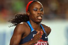 Jessica Beard of United States competes in the women's 400 metres heats during day one (Getty Images)