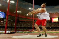 Pawel Fajdek in the hammer at the IAAF World Championships, Beijing 2015 (Getty Images)