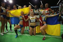 Pentathletes at the IAAF World Indoor Championships Portland 2016 (Getty Images)