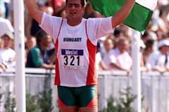 Debrecen 2001 - Jozsef Horvath (© Allsport)
