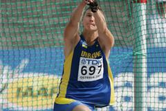 Andriy Martynyuk of Ukraine wins the Hammer Throw final (Getty Images)