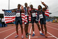 With gold in the men's 4x400m, Team USA secure a sweep of all the relays for the third time in World Junior history (Getty Images)