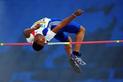 Gael ROTARDIER of France in action during the Boys High Jump final - Day Four - WYC Lille 2011 (Getty Images)