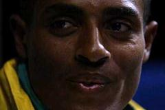 Kenenisa Bekele in Lausanne, the evening before the World Cross Country Championships (Getty Images)