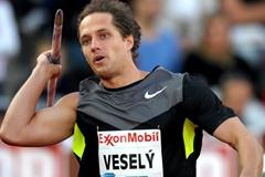 Vitezslav Vesely breaks through 88m barrier at the 2012 Diamond League meeting in Oslo (Mark Shearman)