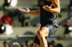 Trey Hardee of United States celebrates a season's best of 5.20m in the men's Decathlon Pole Vault (Getty Images)
