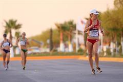 Soon-to-be World Cup winner Maria Vasco in a moment of difficulty in Chihuahua (Getty Images)