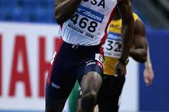 Lashawn Merritt of USA during the men's 400m first round heats (Getty Images)
