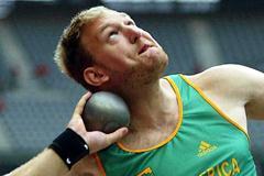 Janus Robberts (RSA) (Getty Images)