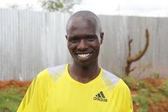 Wilson Chebet ahead of the 2013 TCS Amsterdam Marathon (Losse Veter / organisers)