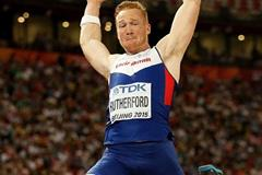 Greg Rutherford in the long jump at the IAAF World Championships, Beijing 2015 (Getty Images)
