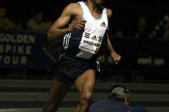 Haile Gebrselassie floats to 3000m win in Boston (Victah Sailer)