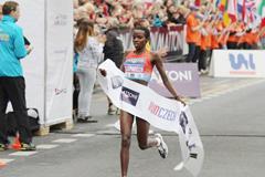 Josephine Chepkoech, winner of the women's race (Organisers)