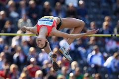Blanka Vlasic clears 2 metres to win the IAAF Golden League meeting in Berlin (Getty Images)