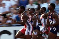 Debrecen 2001 - Darrel Brown (© Allsport)