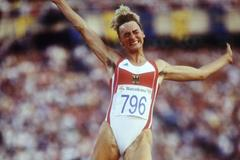 German long jumper Heike Drechsler (Getty Images)