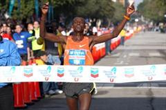 Massive 2:07:37 PB for Teshome Gelana in Houston (Victah Sailer)