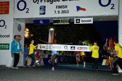 Josephine Jepkoech, winner of the women's 10km at the O2 Grand Prix in Prague (O2 Prague Grand Prix)