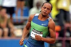 Wallace Spearmon 'turns it on' as he catches the field and clocks 19.90 for 200m - USATF nationals (Getty Images)