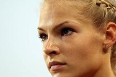 Darya Klishina of Russia prepares to compete in the women's long jump final during day two  (Getty Images)