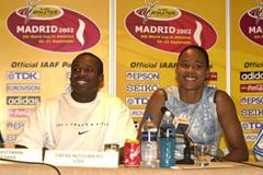 Tim Montgomery and Marion Jones (Getty Images)
