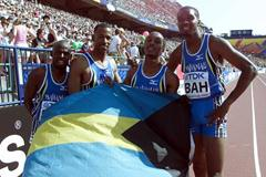 4x400m Final Final - The Bahamas (© Allsport)