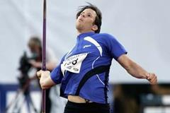 Tero Pitkamaki of Finland wins the men's Javelin in Oslo's Golden League meeting (Getty Images)