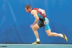 Lisbon 2001 Men's 200m (© Allsport)