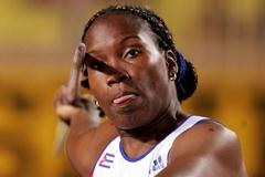 Osleidys Menendez of Cuba at the World Athletics Final (Getty Images)