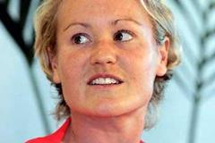 Benita Johnson at the IAAF Press Conference - St-Etienne/St-Galmier (Getty Images)