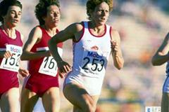 Jarmila Kratochvilova in action in 1987 (Getty Images)