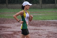 Sandra Arenas (COL) in action ( Mauricio Quiroz)