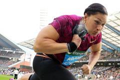 Valerie Adams at the 2014 IAAF Diamond League final in Brussels (Gladys von der Laage)