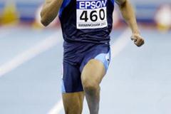 Terrence Trammell (USA) - 60m heats (Getty Images)