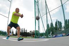Kristzian Pars at the 2014 Rieti IAAF World Challenge meeting (organisers)