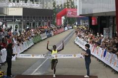 Agnes Kiprop takes 2009 Turin Half Marathon title (Chiara Calliero)