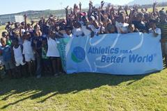 young runners at the 2014 Geraldine Pillay 5km Fun Run (Organisers)