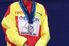 500m Final - Marta Dominguez (© Allsport)