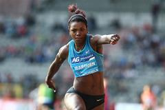 Caterine Ibarguen at the 2015 IAAF Diamond League final in Brussels (Giancarlo Colombo)