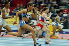 Torri Edwards (USA) - 60m heats (Getty Images)