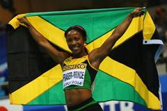 Shelly-Ann Fraser-Pryce, winner of the 60m at the 2014 IAAF World Indoor Championships in Sopot (Getty Images)