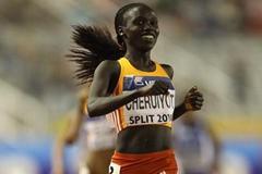 Vivian Cheruyiot of Kenya wins the 5000m in Split (Getty Images)