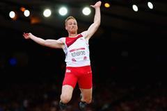 Greg Rutherford in the long jump at the 2014 Commonwealth Games (Getty Images)