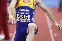 Marian Oprea of Romania during the Triple Jump qualification (Getty Images)