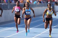 Natasha Hastings on her way to a sub-50 victory in the 400m at the 2013 US Championships (Getty Images)