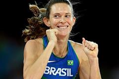 Fabiana Murer in the pole vault at the IAAF World Championships, Beijing 2015 (Getty Images)