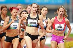 Jenny Simpson 1500m semi final ()