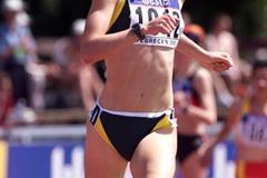 Debrecen 2001 - Georgie Clarke (© Allsport)