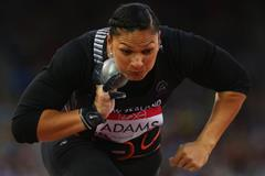 Valerie Adams in the shot put at the 2014 Commonwealth Games (Getty Images)